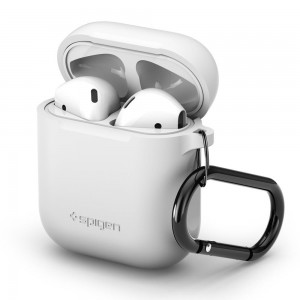 Etui Spigen Case do Apple AirPods białe