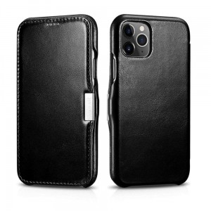 Etui ICARER VINTAGE iPhone 11 Pro BLACK