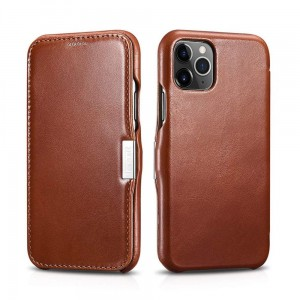 Etui ICARER VINTAGE iPhone 11 Pro BROWN