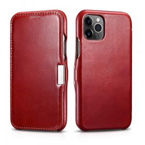 Etui ICARER VINTAGE iPhone 11 Pro RED