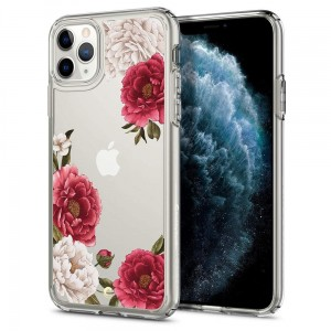 Etui Spigen CIEL iPhone 11 Pro RED FLORAL