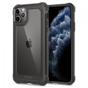 Etui Spigen GAUNTLET iPhone 11 Pro GUNMETAL