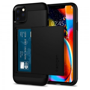 Etui Spigen SLIM ARMOR CS iPhone 11 Pro BLACK