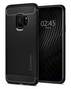 Etui Spigen Rugged Armor do Samsung Galaxy S9 Czarne