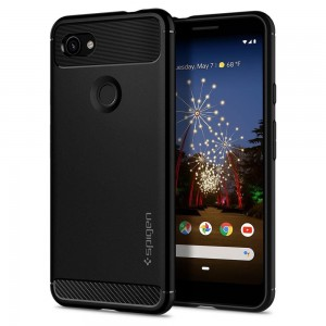 Etui Spigen Rugged Armor do Google Pixel 3A czarne