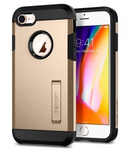 Etui Spigen TOUGH ARMOR iPhone 7/8/SE 2020 CHAMPAGNE GOLD