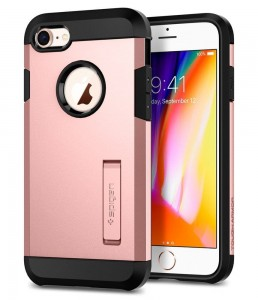 Etui Spigen TOUGH ARMOR iPhone 7/8/SE 2020 ROSE GOLD
