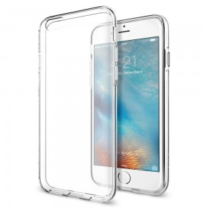 Etui Spigen Liquid Crystal iPhone 6/6S (4.7) CRYSTAL CLEAR