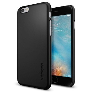 Etui Spigen THIN FIT iPhone 6/6S (4.7) - czarne