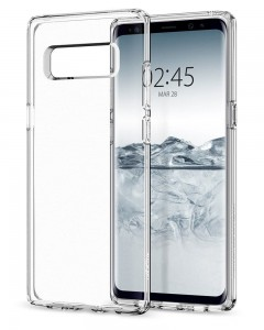 Etui Spigen LIQUID CRYSTAL Samsung Galaxy Note 8 CRYSTAL CLEAR