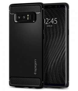 Etui Spigen RUGGED ARMOR Samsung Galaxy Note 8 MATTE BLACK