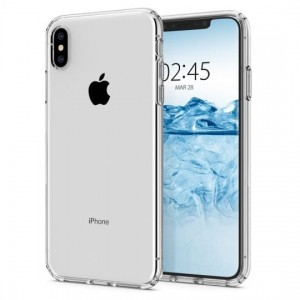 Etui Spigen LIQUID CRYSTAL iPhone XS MAX CRYSTAL CLEAR