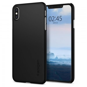 Etui Spigen THIN FIT iPhone XS MAX BLACK