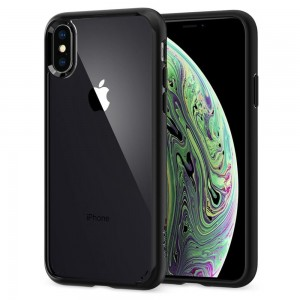 Etui Spigen ULTRA HYBRID iPhone XS MAX MATTE BLACK