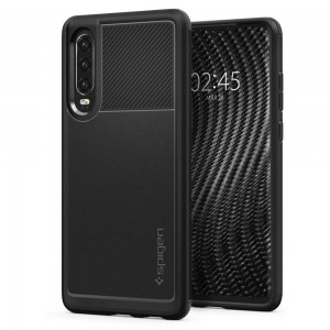 Etui Spigen Rugged Armor do Huawei P30 czarne