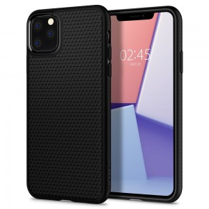 Etui Spigen LIQUID Air iPhone 11 Pro MAX MATTE - czarne