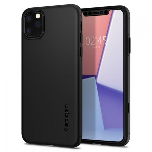 Etui Spigen THIN FIT CLASSIC iPhone 11 Pro MAX - czarne