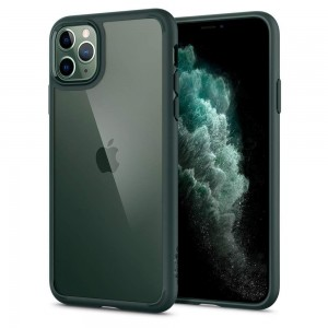 Etui Spigen ULTRA HYBRID iPhone 11 Pro Midnight Green
