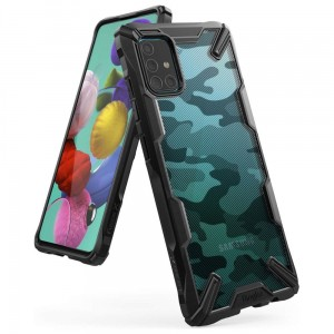 Etui Ringke Fusion X do Samsung Galaxy A51 Camo Black