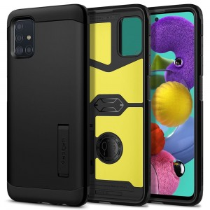 Etui Spigen Tough Armor do Samsung Galaxy A51 Black