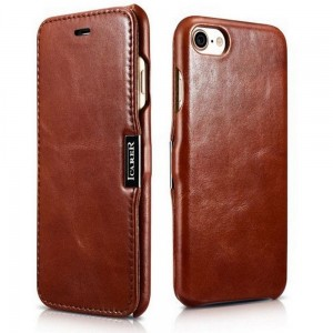 Etui ICARER VINTAGE iPhone 7/8/SE 2020 BROWN