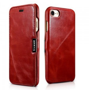 Etui ICARER VINTAGE iPhone 7/8/SE 2020 RED