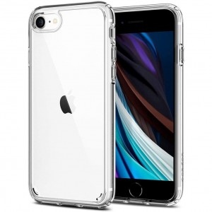 Etui Spigen ULTRA HYBRID iPhone 7/8/SE 2020 CRYSTAL CLEAR