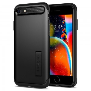 Etui Spigen SLIM ARMOR iPhone 7/8/SE 2020 BLACK