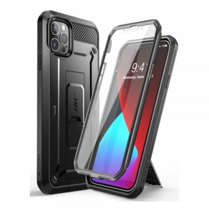 Etui Supcase Unicorn Beetle Pro do iPhone 12/12 Pro Black