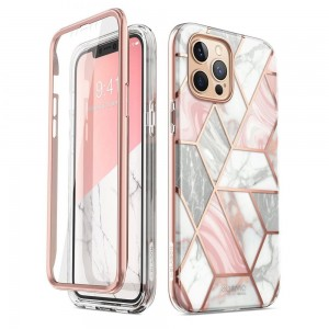 Etui Supcase Cosmo do iPhone 12/12 Pro marmurowe