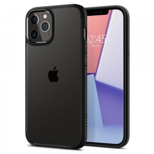 Etui Spigen Ultra Hybrid do iPhone 12/12 Pro czarne