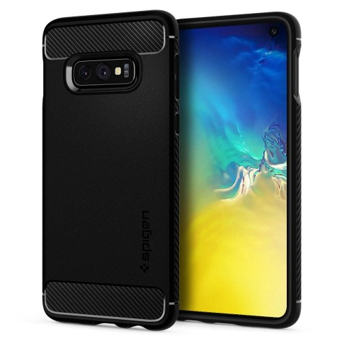 Etui Spigen Rugged Armor do Samsung Galaxy S10e Czarne