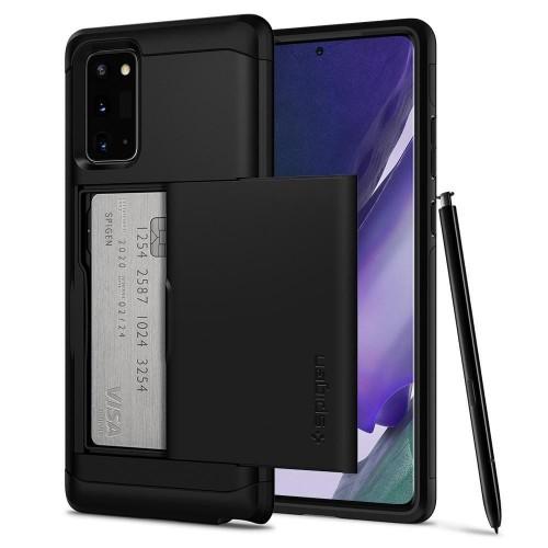 Etui Spigen Slim Armor CS do Samsung Galaxy Note 20 czarne