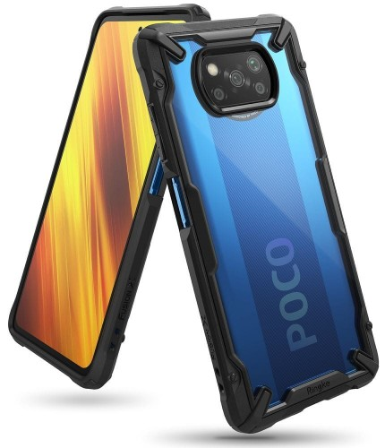 Etui Ringke Fusion X do Xiaomi Poco X3 NFC