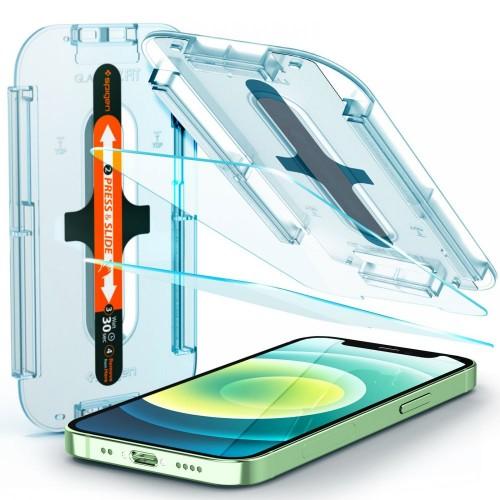 szkło hartowane spigen glas.tr ez fit pełna ochrona ekranu