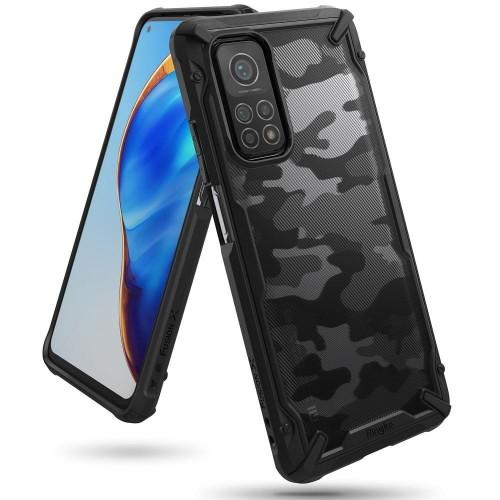 Etui Ringke Fusion X do Xiaomi Mi 10t/10t Pro camo czarne