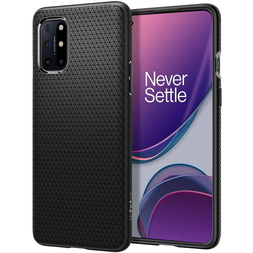 Etui Spigen Liquid Air do OnePlus 8T czarne