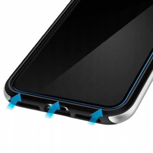 szkło hartowane spigen glass fc wysoka odporność na uszkodzenia