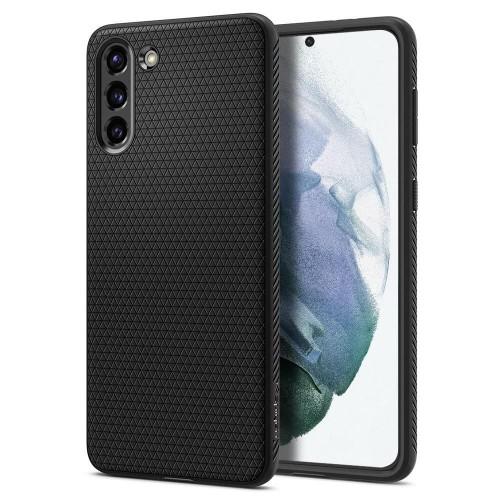 Etui Spigen Liquid Air do Samsung Galaxy S21 czarne